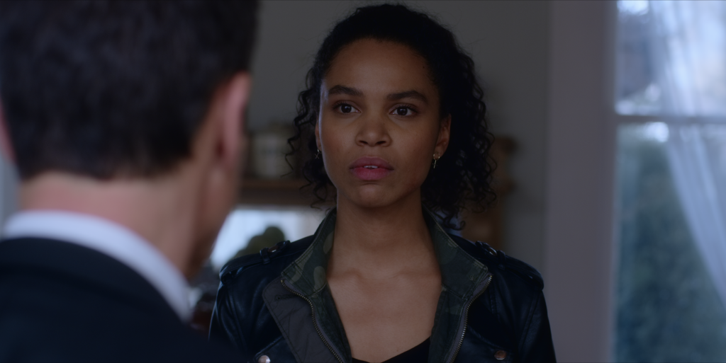 Nesta Cooper from Travelers. Courtesy, Netflix.