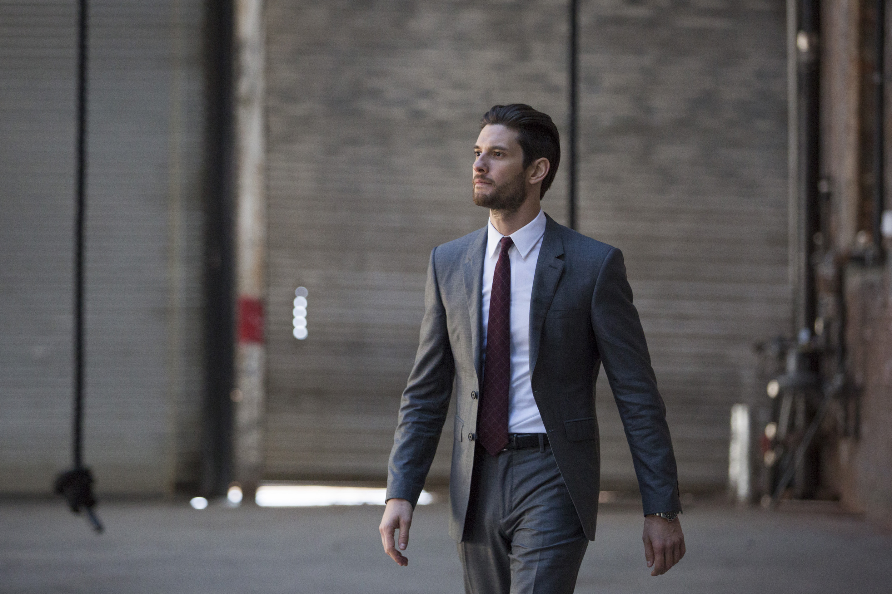 Ben Barnes, who plays Billy Russo, in Marvel's The Punisher. Pictured, season 1. Photo credit, Cara Howe/Netflix. Courtesy, Netflix.
