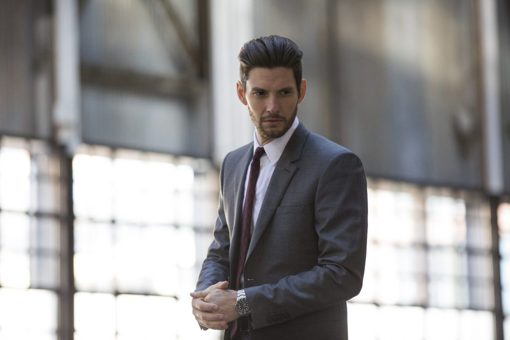 Ben Barnes, who plays Billy Russo/Jigsaw, in The Punisher. Photo credit, Cara Howe/Netflix. Courtesy, Netflix.