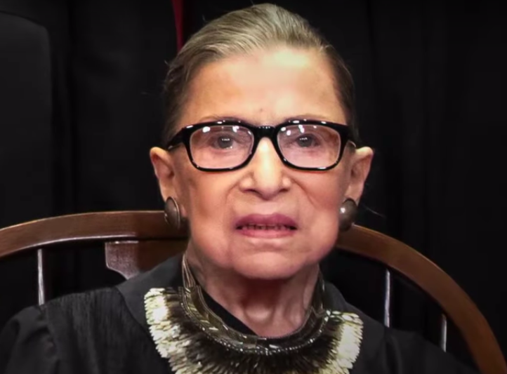 Pictured, Supreme Court Justice Ruth Bader Ginsburg.