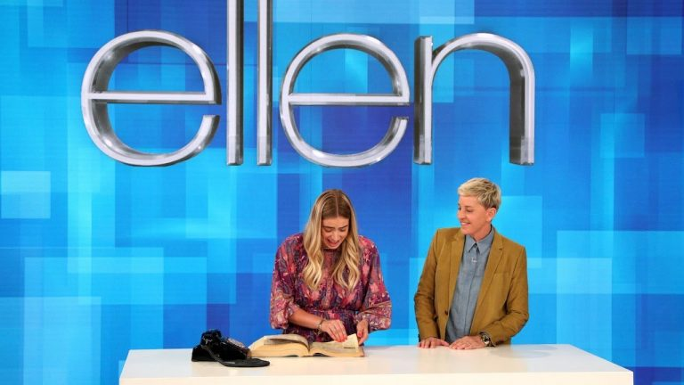 Ellen DeGeneres challenges teen to use rotary phone, map, phone book