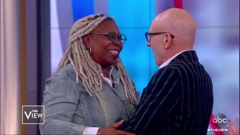 Patrick Stewart invited Whoopi Goldberg to re-join Star Trek on The View