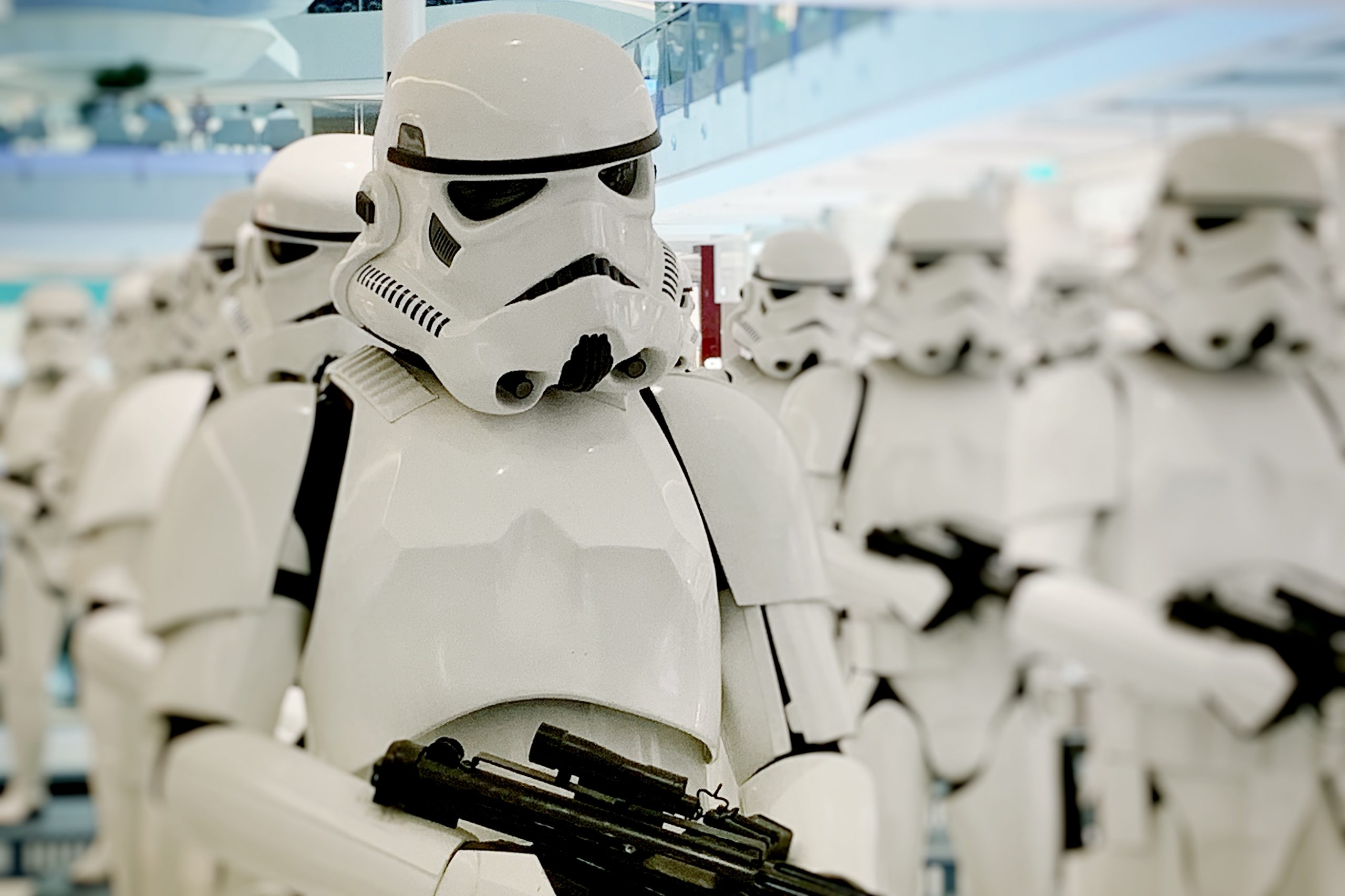 The Mandalorian caps off with hilarious portrayal of stormtroopers