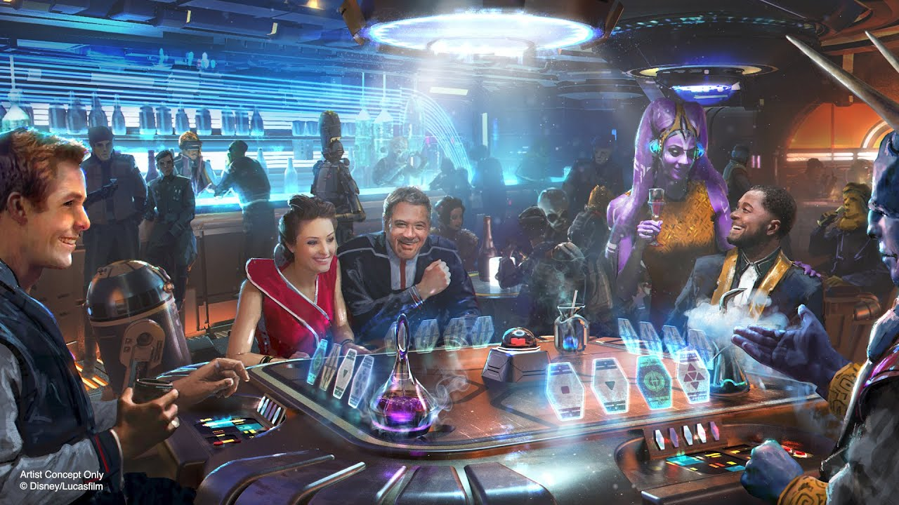 Disney World opening starship hotel to expand Star Wars attractions!