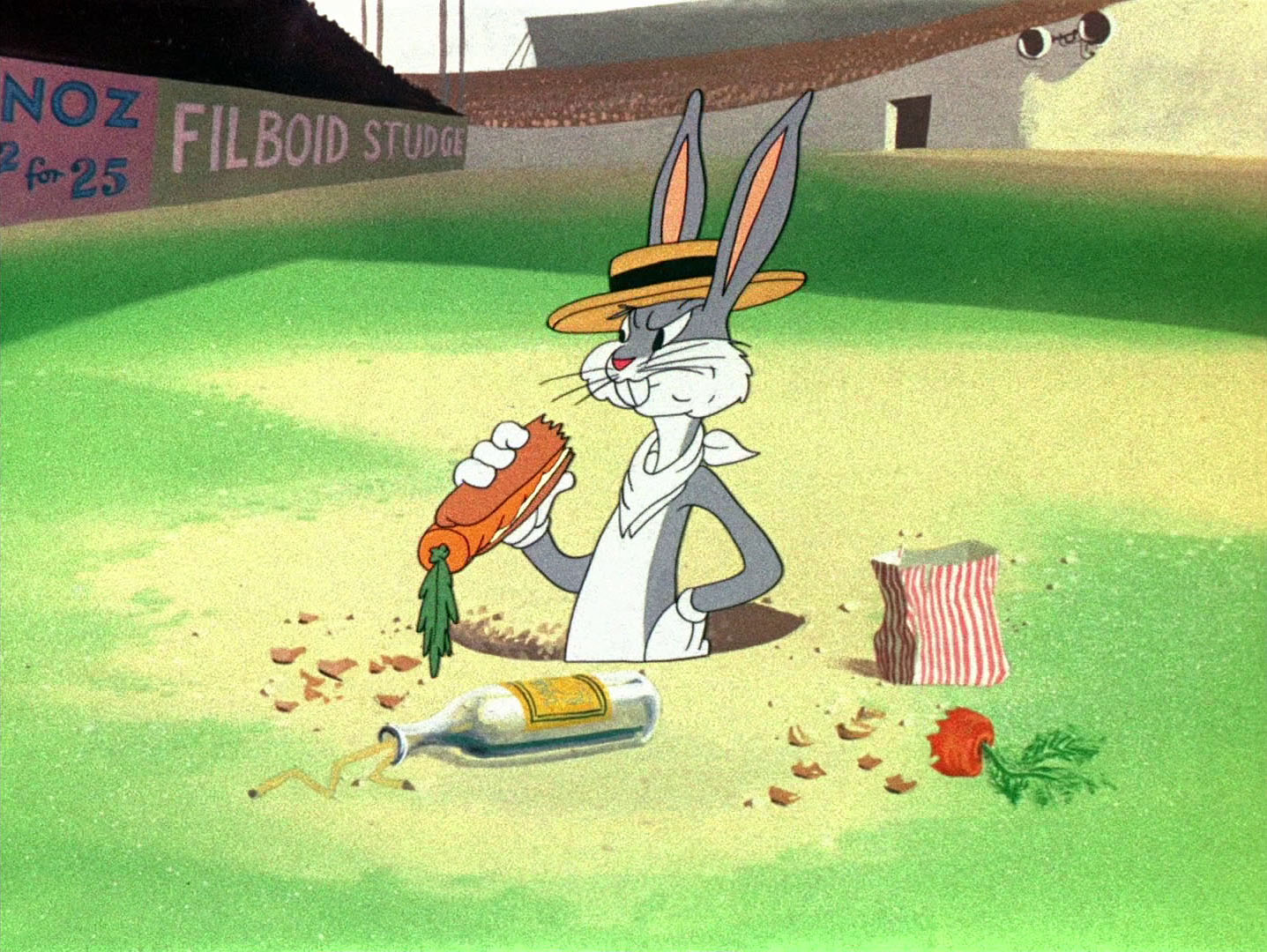 Check it out! Bugs Bunny baseball art by S. Preston is the perfect MLB decor